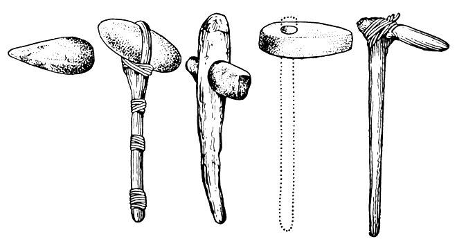 орудия труда рисунки современные